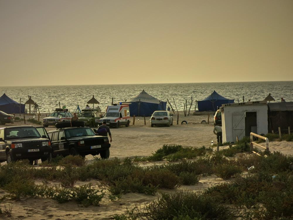 Campingplatz vor Nouakchott