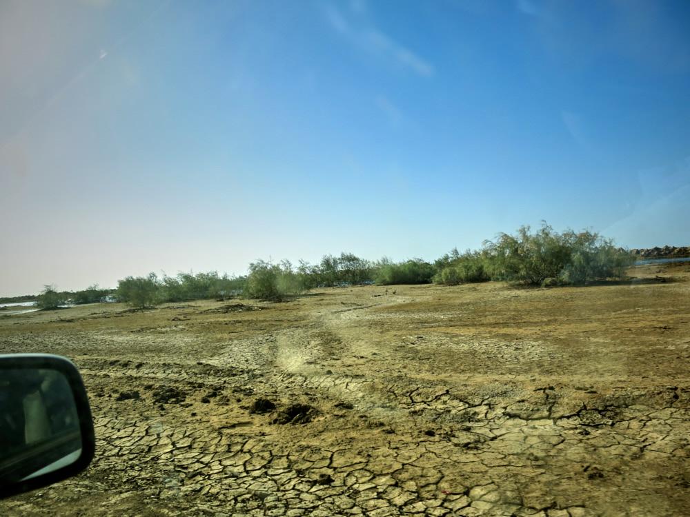 Flußbett des Senegal