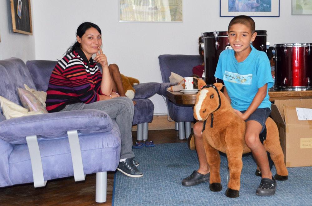 Das Pferd ist schon adoptiert