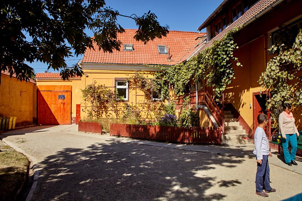 Innenhof vom Kinderheim