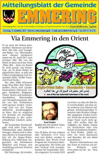 Emmeringer Mitteilungsblatt 16.12.2010