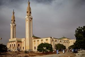 Die große Moschee in Nouakchott