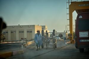 Grenzbrücke Mauretanien - Senegal