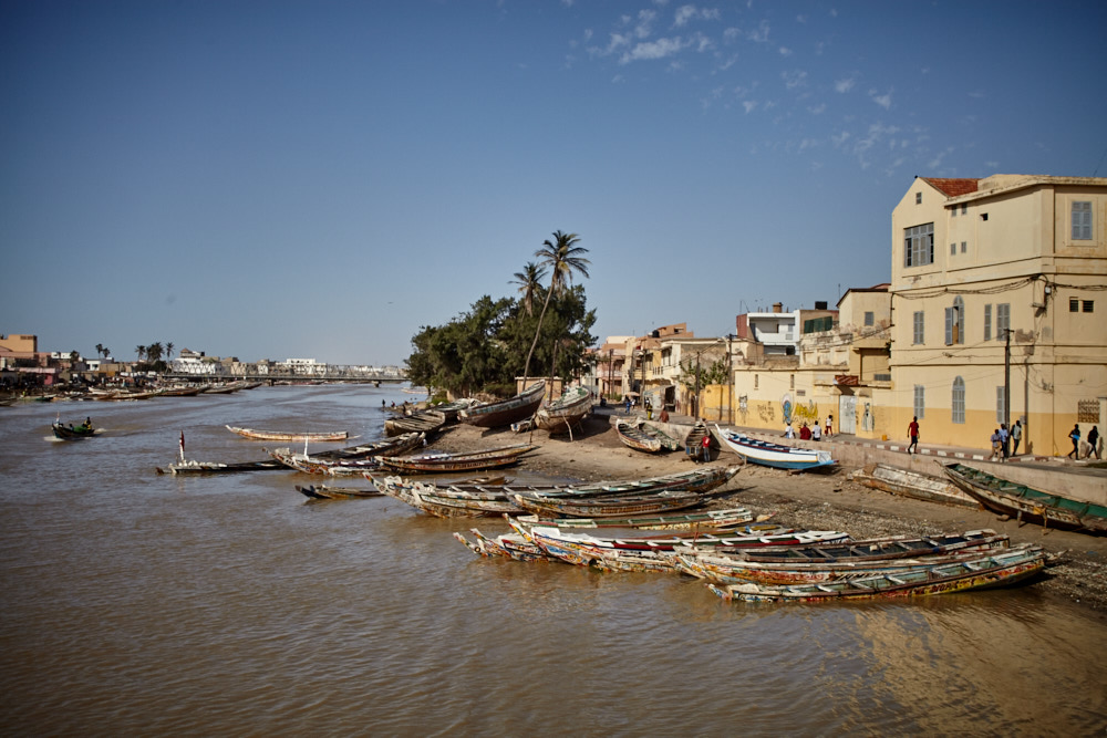 Am Senegal Fluss