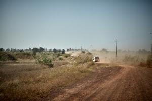 Piste durch den Senegal