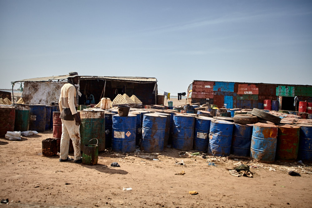 Tankstelle im Senegal