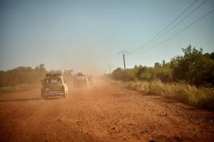 Die letzten Kilometer zur Fähre