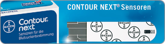 Contour Next Sensoren